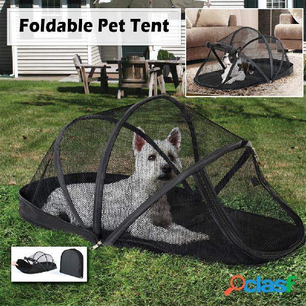 Gabbia per gatti pieghevole per animali domestici dome portatile facile da trasportare tenda per gatti all'aperto per animali domestici