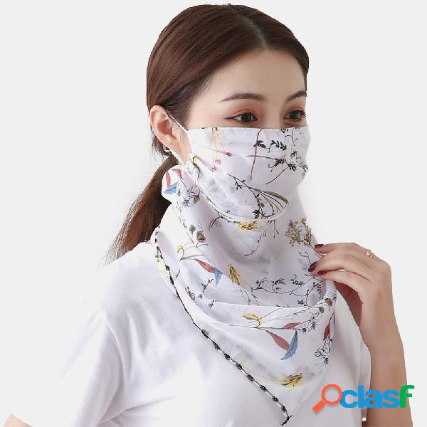 Sciarpe estive traspiranti ad asciugatura rapida per esterni maschera stampa collo sciarpa con protezione solare maschera