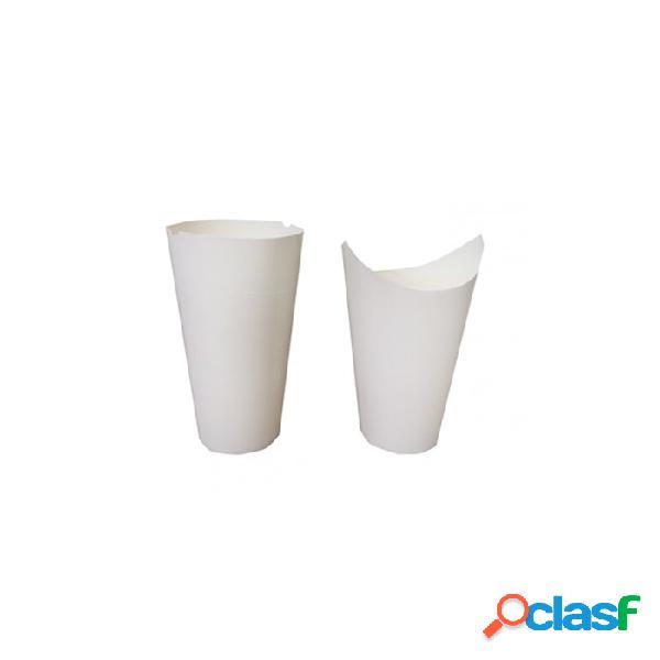 Contenitore da asporto monouso per pasta in cartone bianca cl 60 - carta - bianco