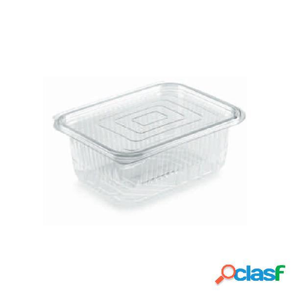 Contenitore rettangolare monouso per alimenti in pet trasparente lt 0,75 - plastica monouso