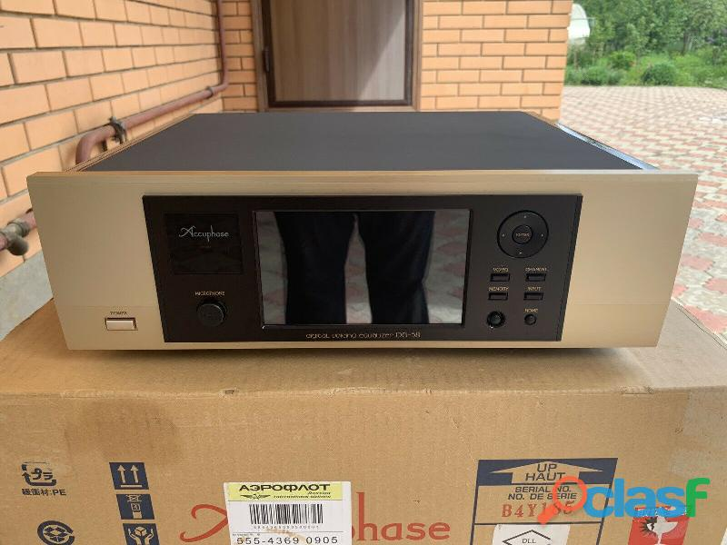 Equalizzatore vocale digitale ACCUPHASE DG 58