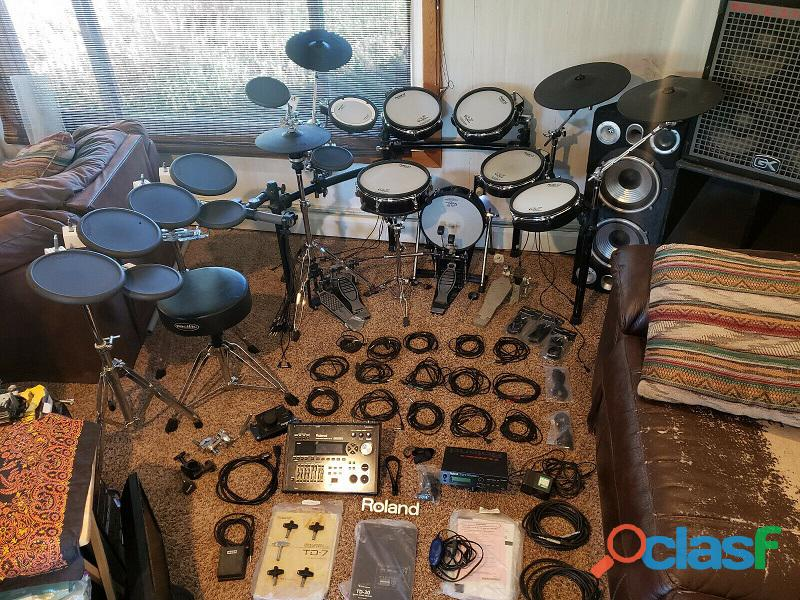 In bundle Roland TD 30,TD 7 Percussion