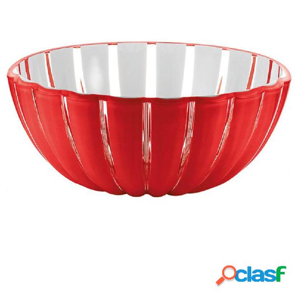 Contenitore grace m ø 20xh8,5 - 1500 cc plexiglass rosso