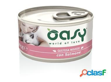 Oasy gatto mousse con salmone gr 85