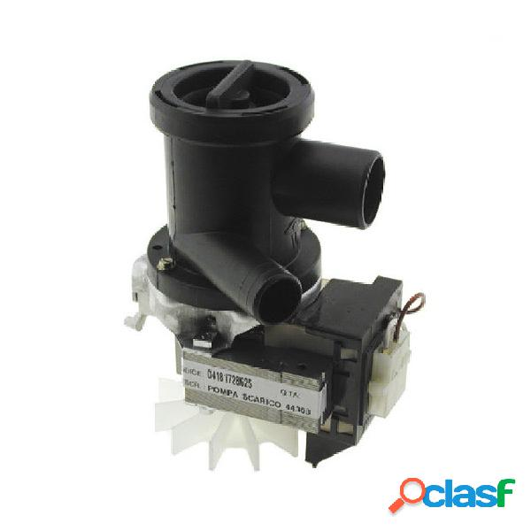 Pompa scarico lavatrice whirlpool cod. 04181728625
