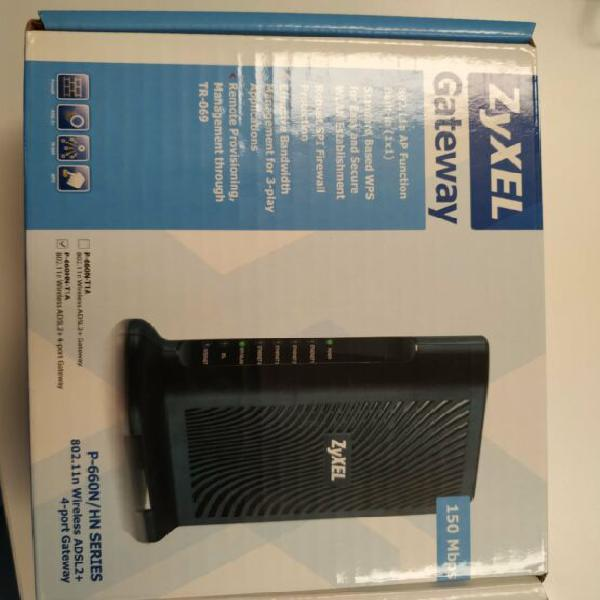 Zyxel p-660n-t1a router