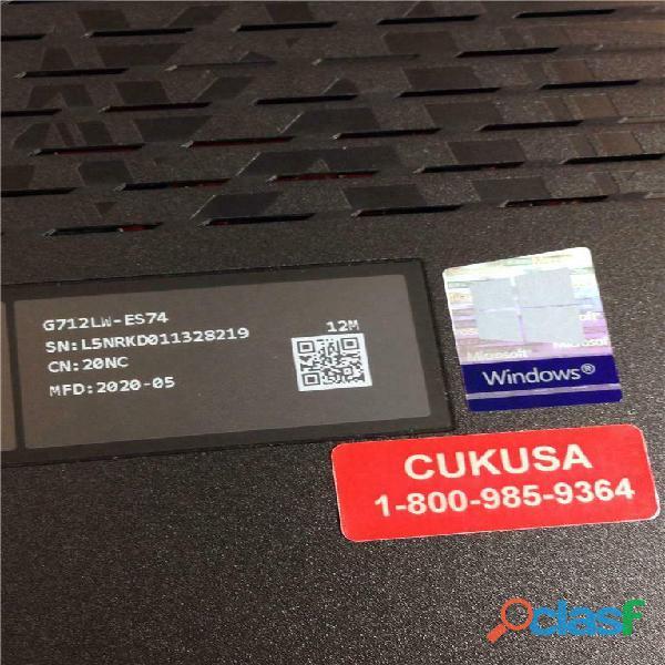 Asus ROG Strix G17 (2020) G712LW ES74 3