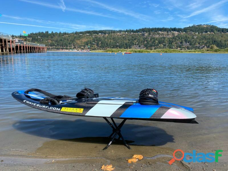 Electric Jetsurf surfboard Esurf fibra