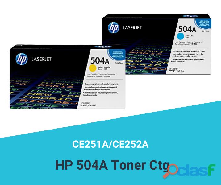 HP 504A Toner Ctg