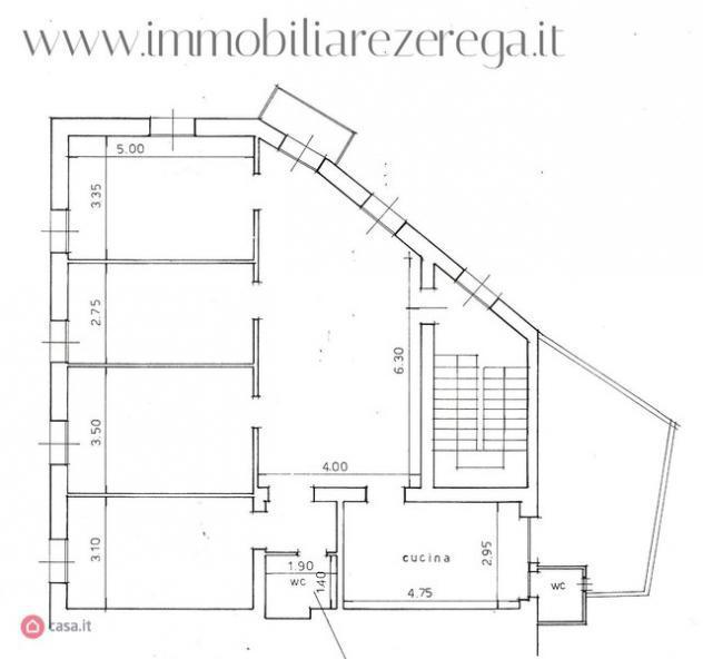 Attico/mansarda di 200mq in vicinanze lungomare a rapallo