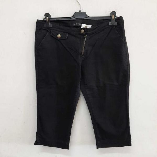 Bermuda donna calvin klein jeans nero taglia 30