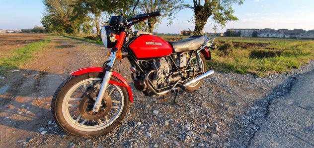 Moto guzzi v50 pb - fmi + cupolino e scarichi originali