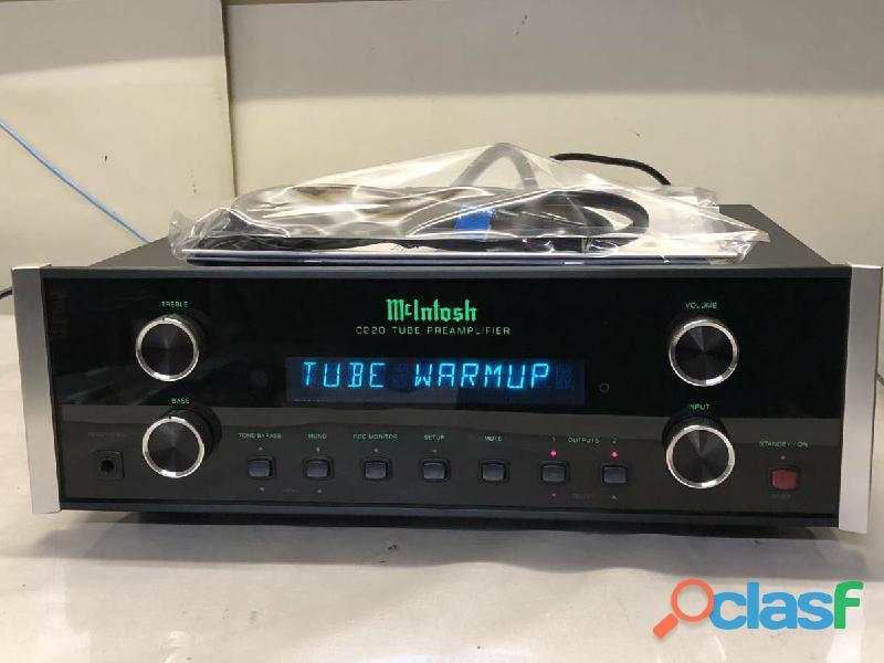 Amplificatore di Potenza Macintosh C220 C 220 Tubo