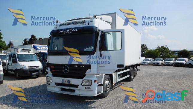 Mercedes Benz Actros ,Dal prossimo 19 novembre fino al 26 novembre online la nostra asta veicolare!