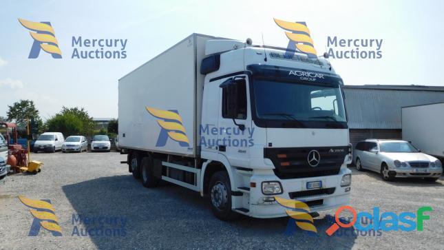Mercedes Benz Actros ,Dal prossimo 19 novembre fino al 26 novembre online la nostra asta veicolare! 1