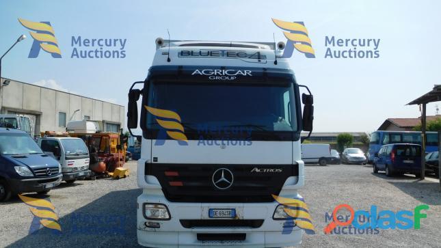 Mercedes Benz Actros ,Dal prossimo 19 novembre fino al 26 novembre online la nostra asta veicolare! 2