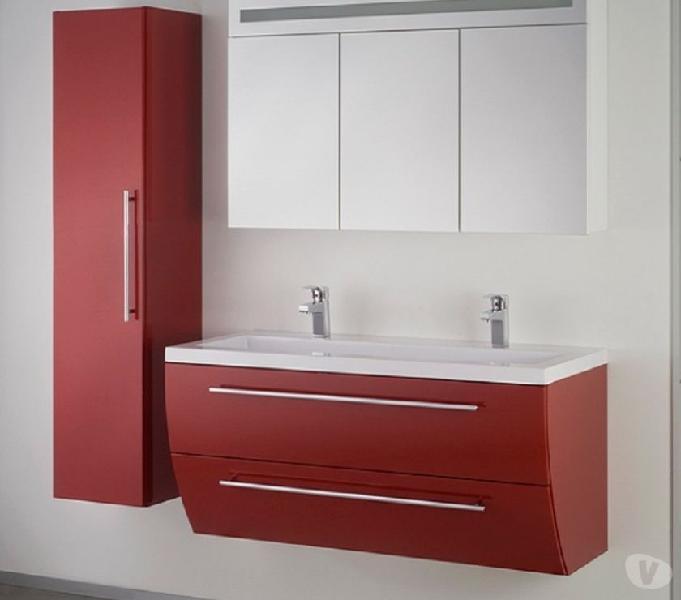 Bagno sospeso sweet 120 lavabo in cast marble