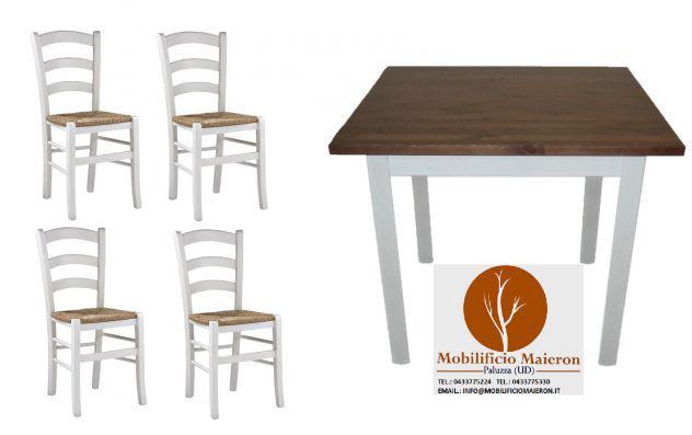 Set completi tavoli e sedie legno arredamento ristorante bar