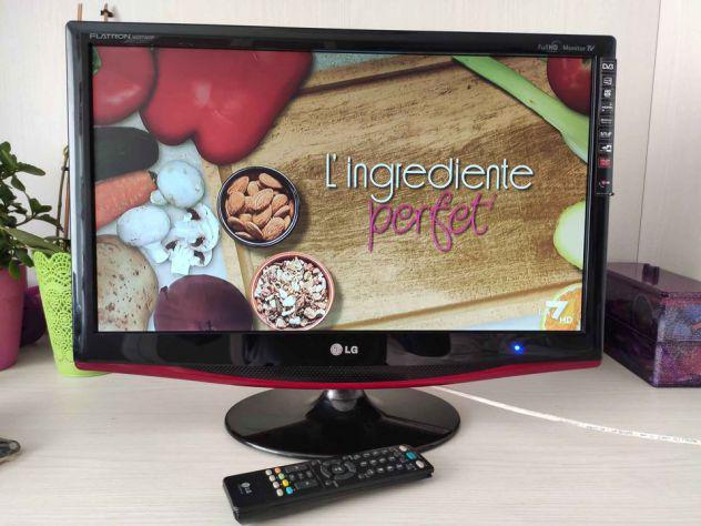 Tv. - monitor lg full hd 23 pollici