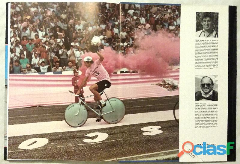 I giorni rosa di Moser di Giacomo Santini; 2°Ed.Luigi Reverdito, Trento 1984 come nuovo 2