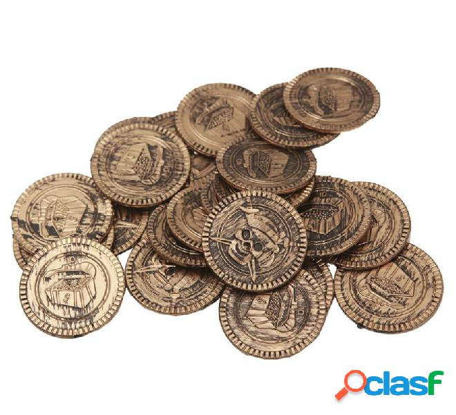 Monete d'oro pirata o ladro