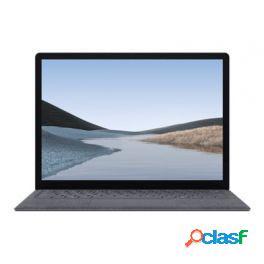 "Microsoft 13.5"" surface laptop 3 windows 10 pro qxs-00009 platino"