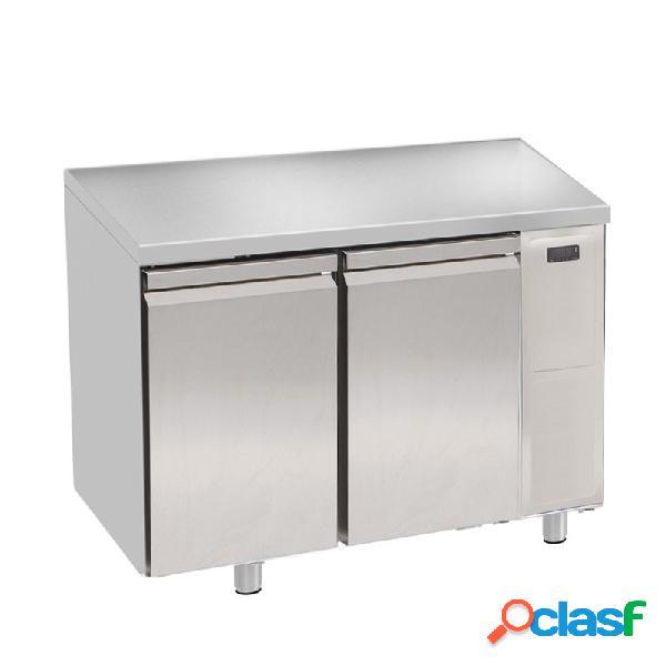 Tavolo frigo - 2 porte - prof. 700 mm - temperatura 0°c/+10°c - motore remoto