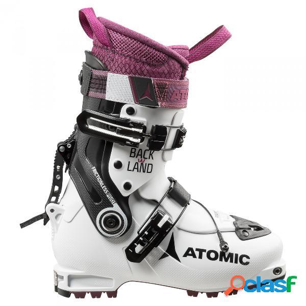 Scarponi sci alpinismo atomic backland (colore: bianco-viola-nero, taglia: 22/22.5)