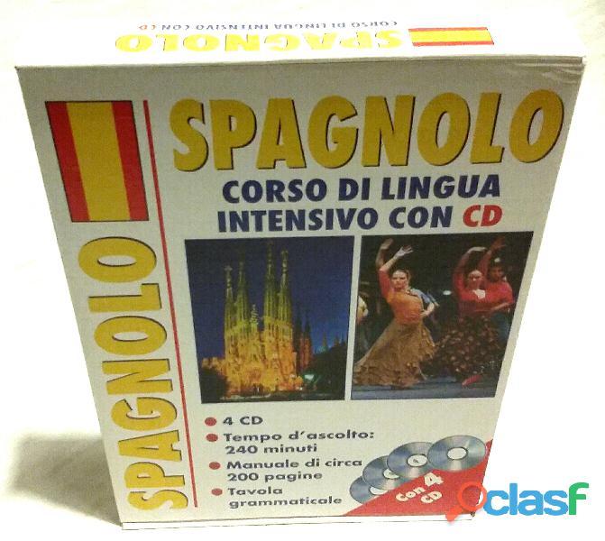 Corso di lingua. Spagnolo intensivo. Ediz. bilingue. Con 4 CD Audio nuovo
