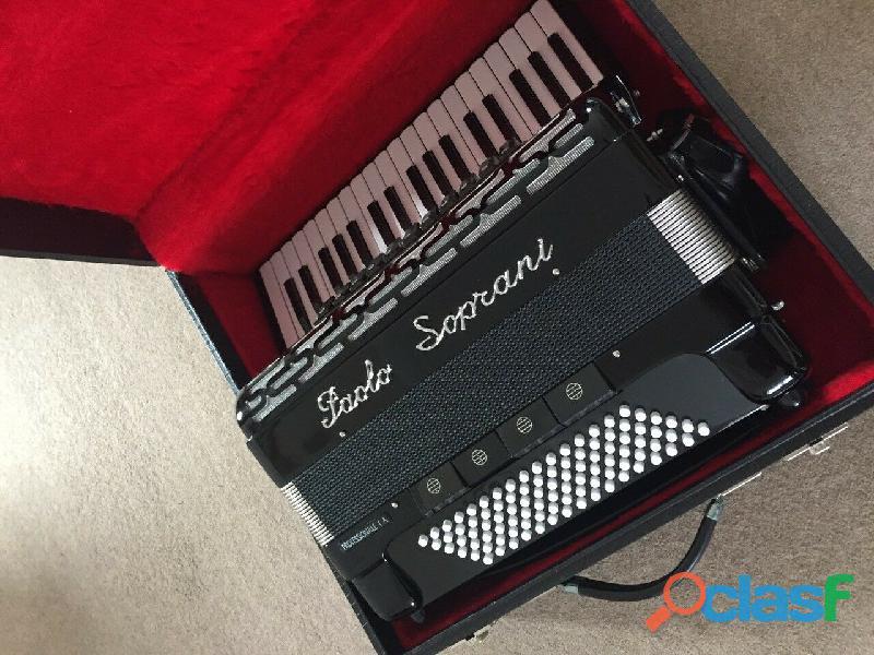 Paolo Soprani Professionale 1 A Fisarmonica,96 Bass,Nero