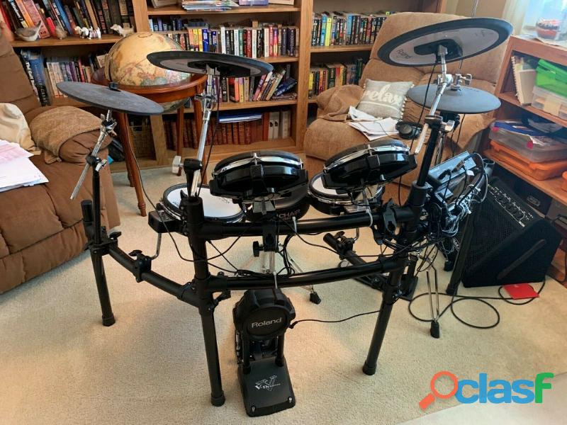 Roland Td 25 KV V Electronic V Drum Kit Amp
