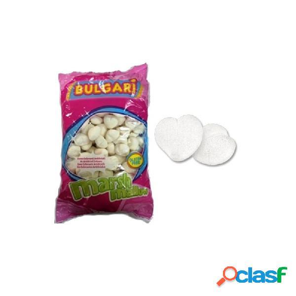 Marshmallow cuori bianco 900 gr 0606