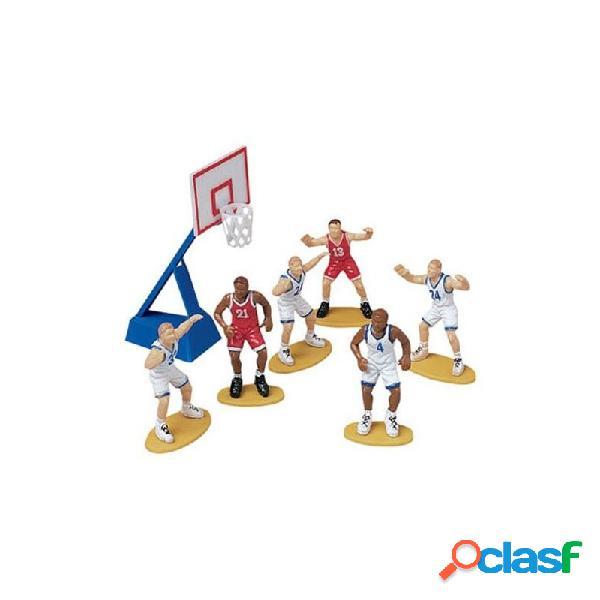 Set 7 pezzi basket wilton - decorazioni per torte basket
