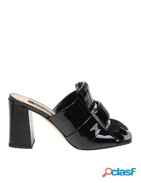 Sergio rossi sandali donna a89050mviv011000 pelle nero