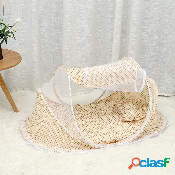 0-3 anni lettino tenda materasso per culla materasso pieghevole portatile zanzariera per neonato camera da letto lettino da viaggio