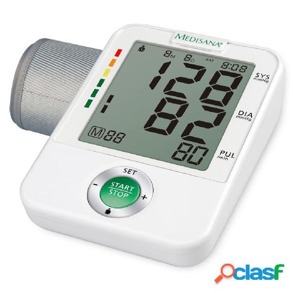 Medisana misuratore pressione arteriosa da braccio bu a50 bianco