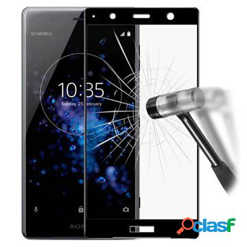 Proteggi schermo in vetro temperato imak full size per sony xperia xz2 premium - nero