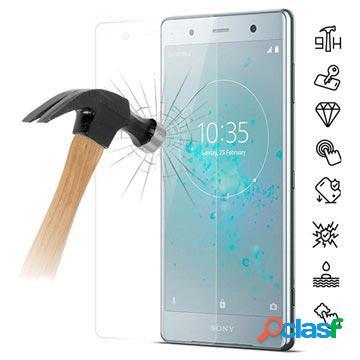 Proteggi schermo in vetro temperato per sony xperia xz2 premium - chiaro