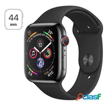 Apple watch series 4 lte mtx22fd/a - acciaio inossidabile, cinturino sport, 44mm, 16gb - space black