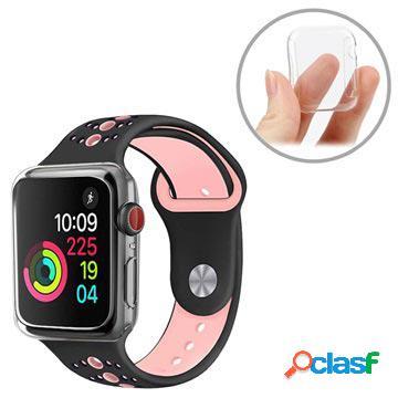 Cover in tpu ultra sottile per apple watch series 4 - 44mm - trasparente