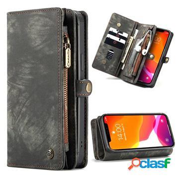 Custodia multifunzionale caseme 2-in-1 per iphone 12 mini - nera