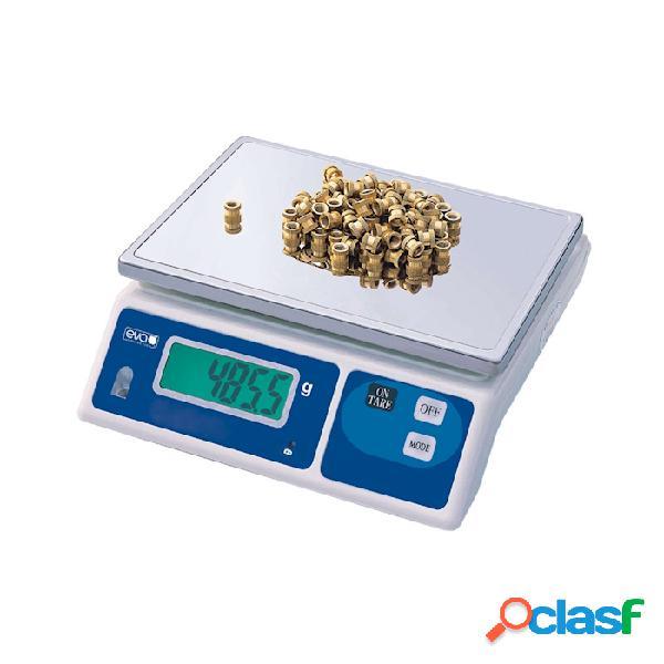 Bilancia elettronica pesapacchi 30 kg - acciaio