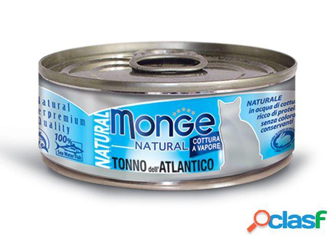 Monge natural tonno dell'atlantico gr 80