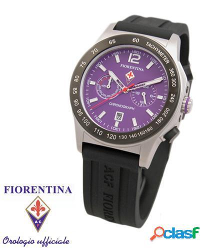 Orologio ufficiale fiorentina calcio viola con cronografo