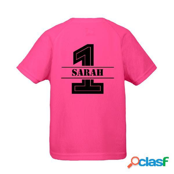 T-shirt sportiva per bambini - fuschia - 10 anni