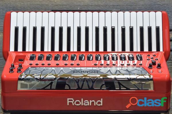 Fisarmonica Roland FR 8X RD V Rosso
