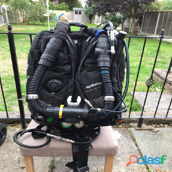 Rebreather AP Evolution CCR modello ideale