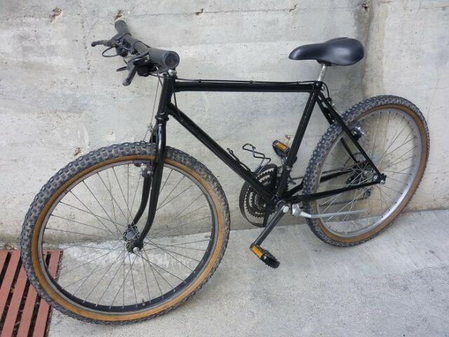 Bicicletta mountain bike da uomo con cambio 18 velocità