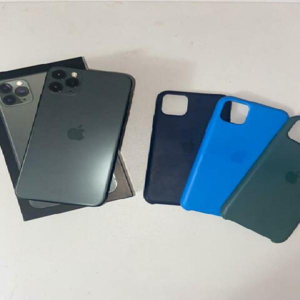 Iphone 11 pro max 256 gb midnight green