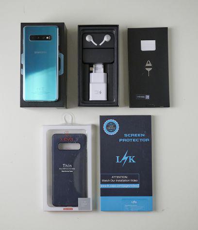 Samsung s10 dual sim prism green 128 gb garanzia italia no